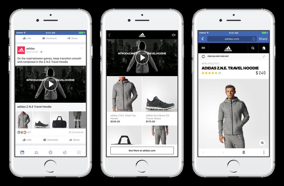 formato de anuncio de facebook